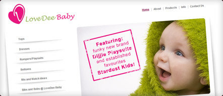 New e-Commerce Website for LoveDee Baby Ltd