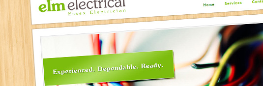 New Website – Elm Electrical