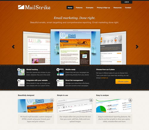 Mailstrike Homepage