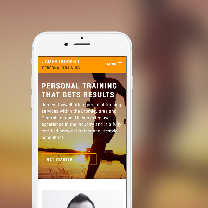 James Doswell Personal Training Bromley
