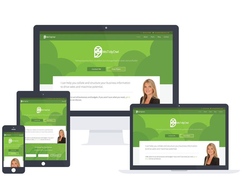 Responsive Website Design Greenwich