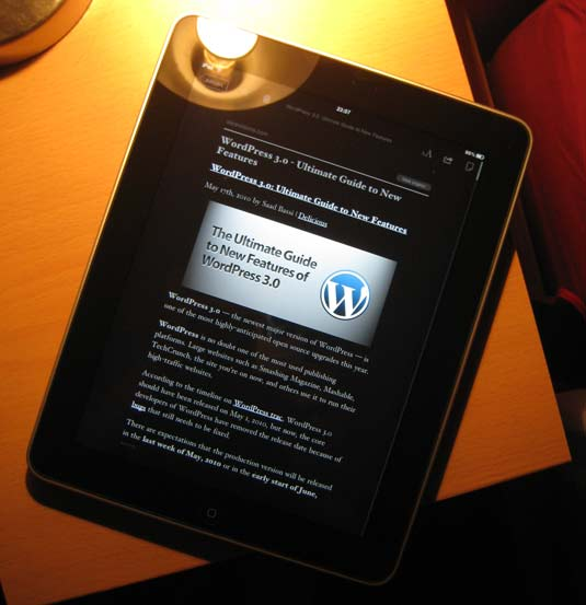 The iPad was made for apps like Instapaper