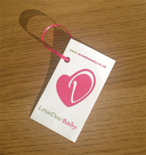 LoveDee Baby label
