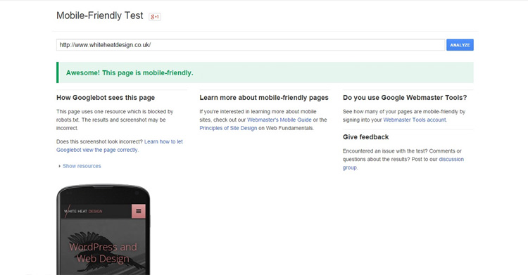 how to make my site mobile friendly