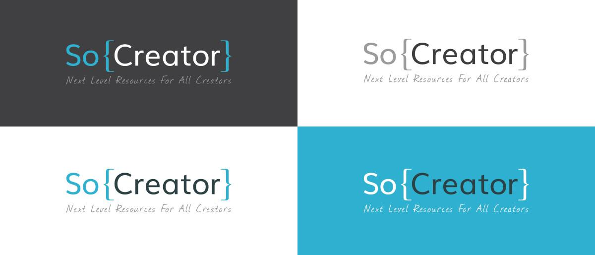 SoCreator Logo Variations
