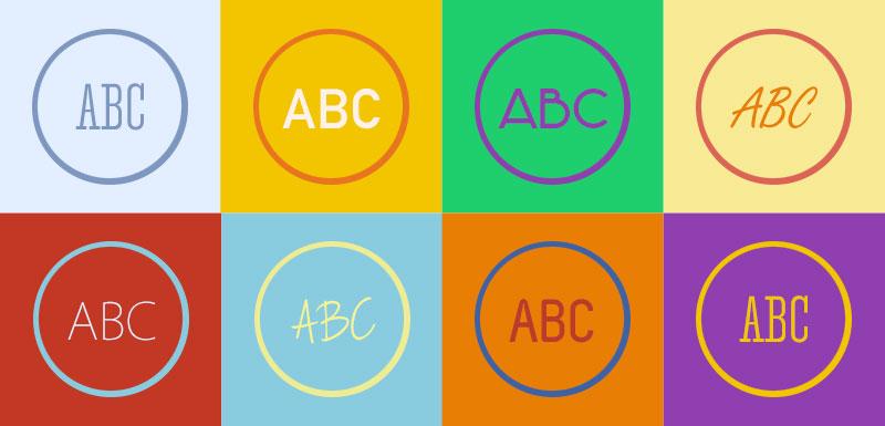 Infinite logo design options